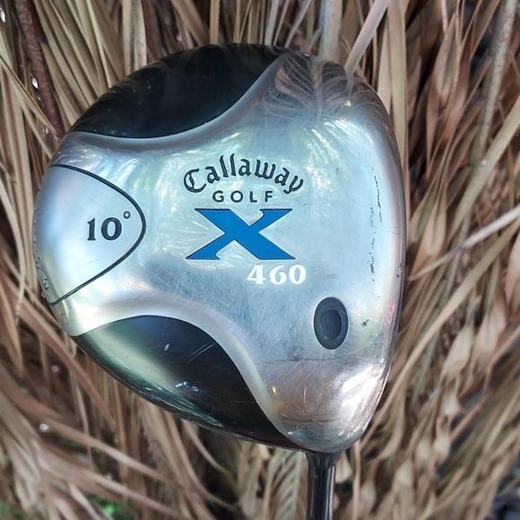 Callaway X 460 Golf Driver 10*